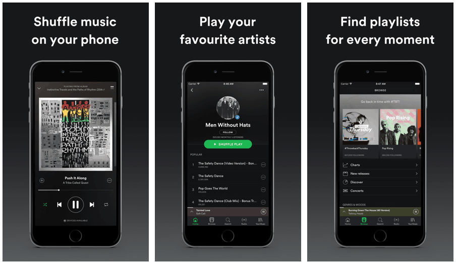 best music app for iPhone