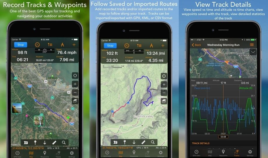 GPS Tracks - GPS Apps for iPhone