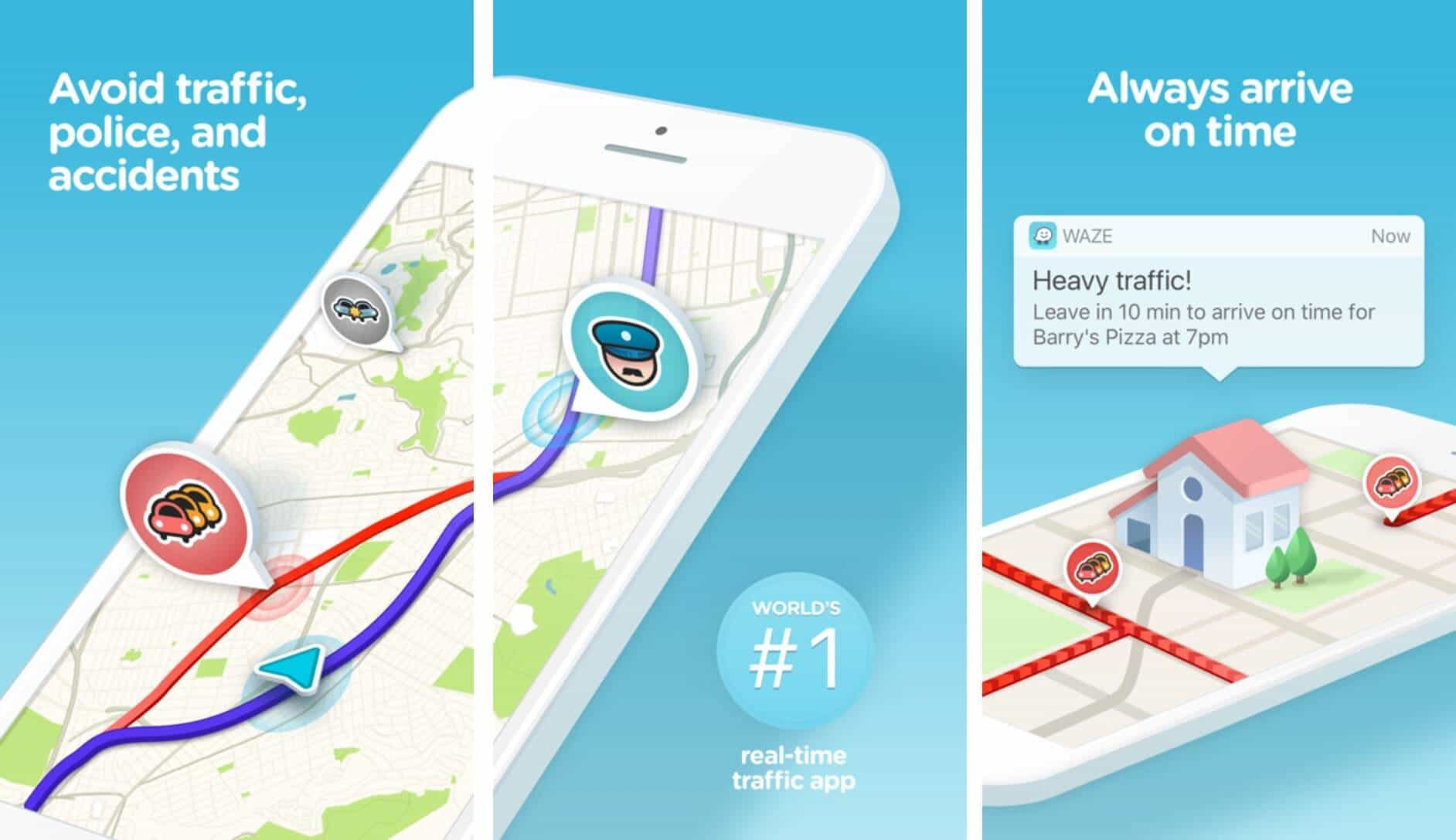 Waze - best gps tracking app