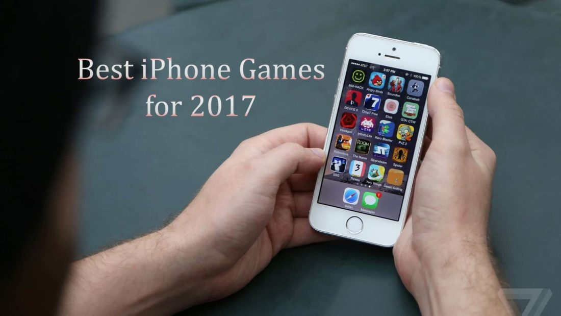 Best iPhone, games to Download and Play in 2017