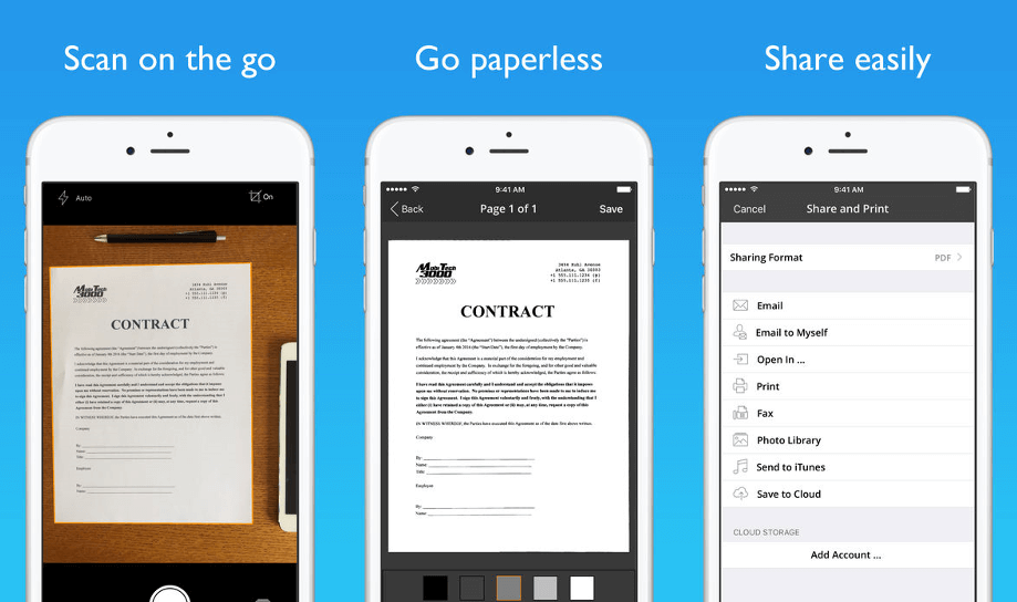 JotNot Pro - Document Scanner App for iPhone and iPad