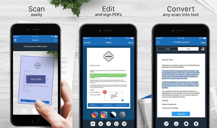 Scanner For Me - Document Scanner App for iPhone