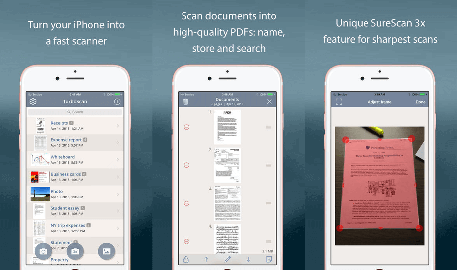 TurboScan Pro - document & receipt scanner