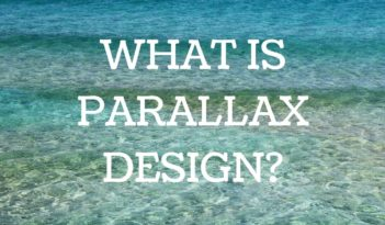 what is parallax design