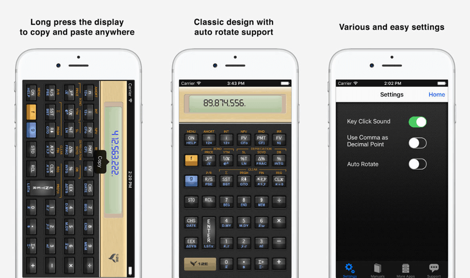 Vicinno Financial Calculator App
