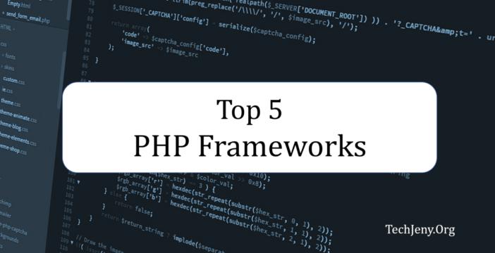 Top PHP Frameworks