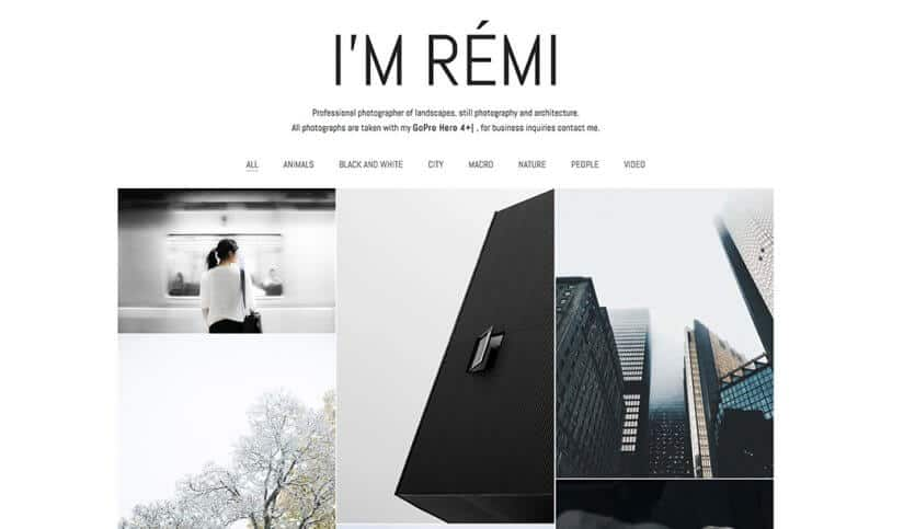 Kalium - Best WordPress Themes for Photographers