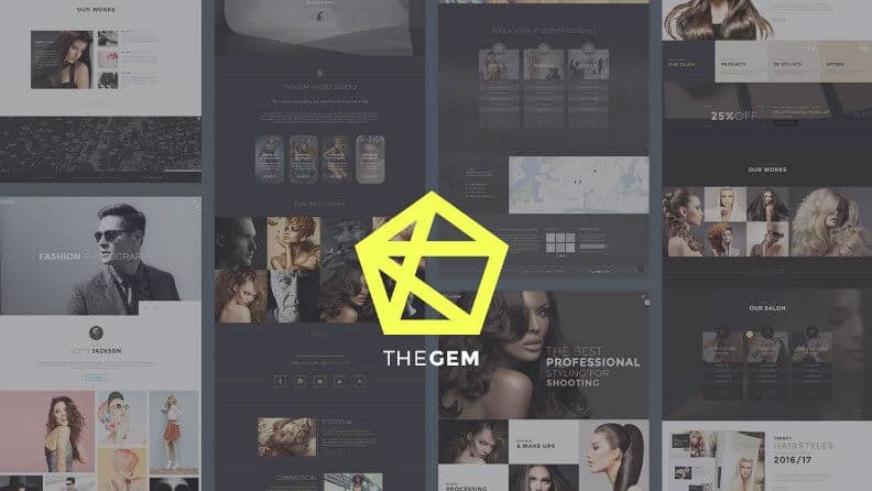 TheGem - Best WordPress Themes for Photographers