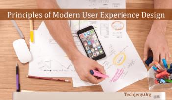 Modern User Experience Design Principles