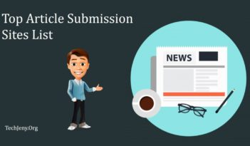 Top 10 Article Submission Sites List 2018
