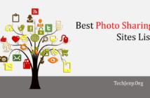 Best Photo Sharing Sites List