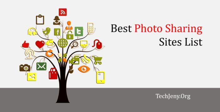 Best Photo Sharing Sites List 2018