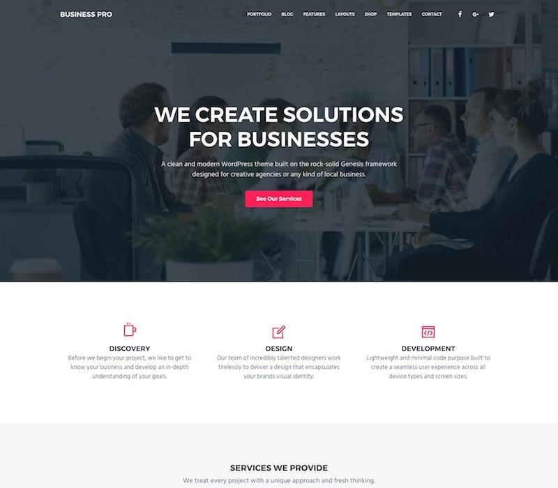 Business Pro Business WordPress Themes