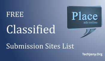 Free Classified submission sites list 2018
