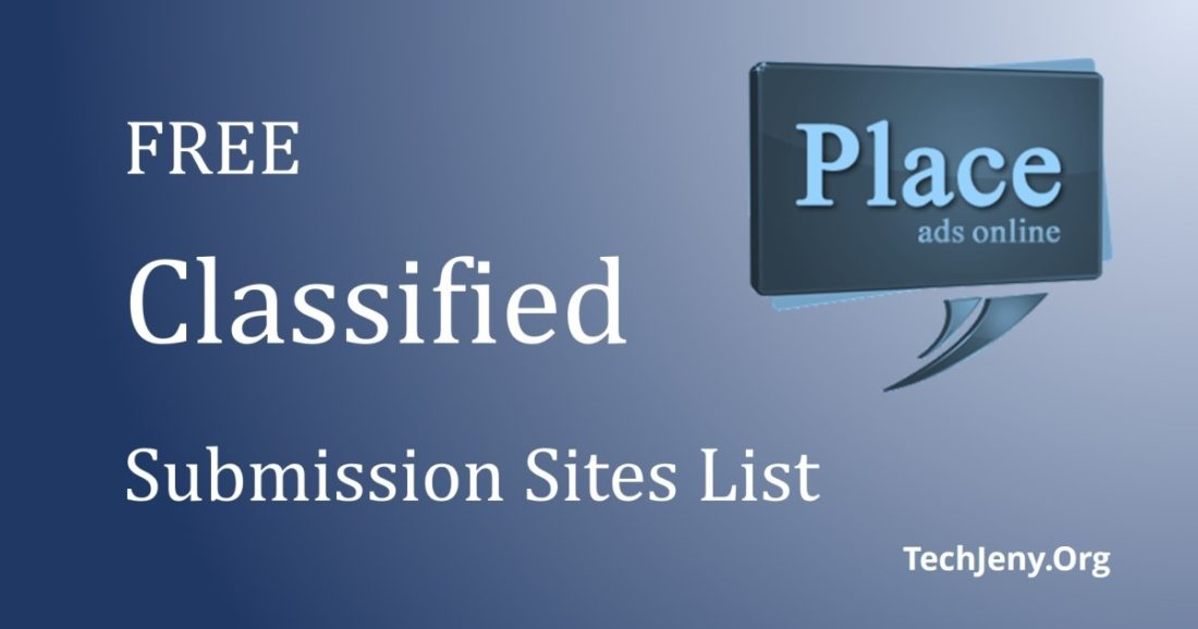 200+ Free Classified submission sites list in USA UK Australia 2019