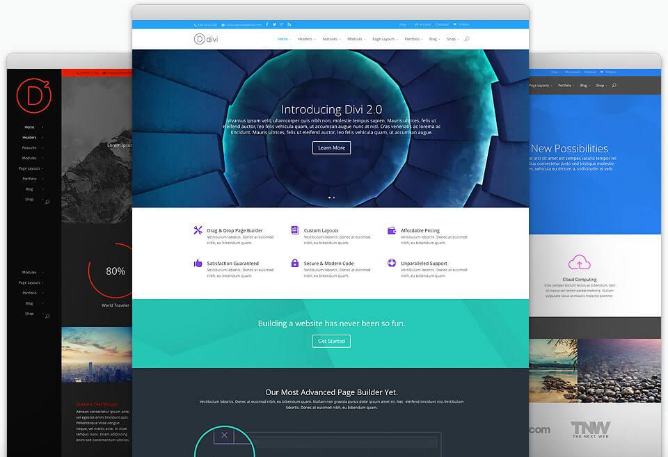 Divi Best Business WordPress Theme