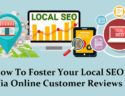 Foster Local SEO Via Online Customer Reviews