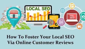 Foster Local SEO Via Online Customer Reviews
