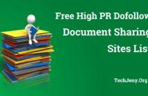 Best Free Document Sharing Sites List 2018