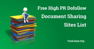 80+ Best Free Document Sharing Sites List (Updated In July 2018)