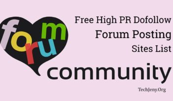 Free Forum Posting Sites List