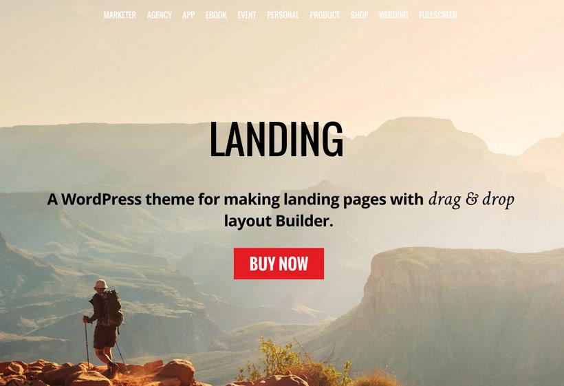 Landing Business WordPress Theme