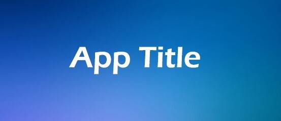 App Title
