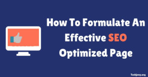 How To Formulate An Effective SEO Optimized Page (Infographic)