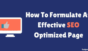 How To Formulate An Effective SEO Optimized Page