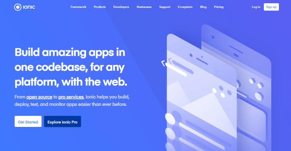 Ionic Best Responsive HTML5 Framework
