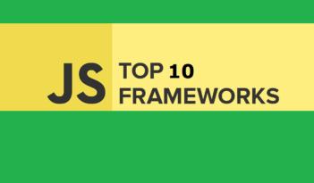 Top 10 Best JavaScript Frameworks List 2018