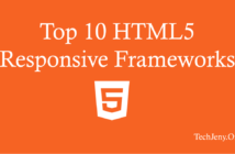 Top 10 Best Responsive HTML5 Frameworks List 2018