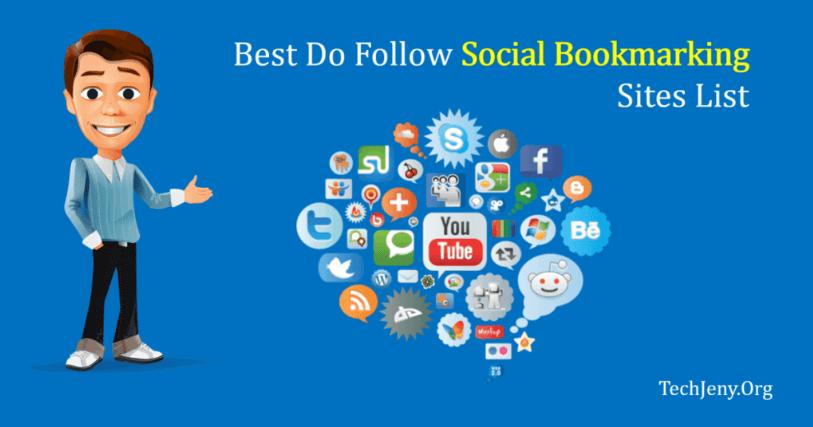 Top 80 High Pr Do Follow Social Bookmarking Sites List