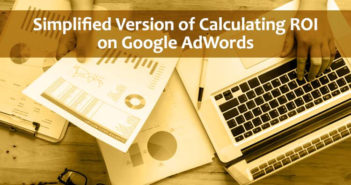 Calculating ROI on Google AdWords