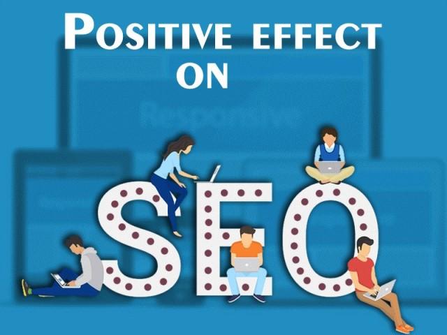 Positive effect on SEO