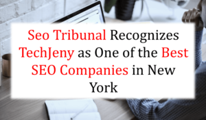 Seo Tribunal Recognizes Techjeny as One of the Best SEO Companies in New York