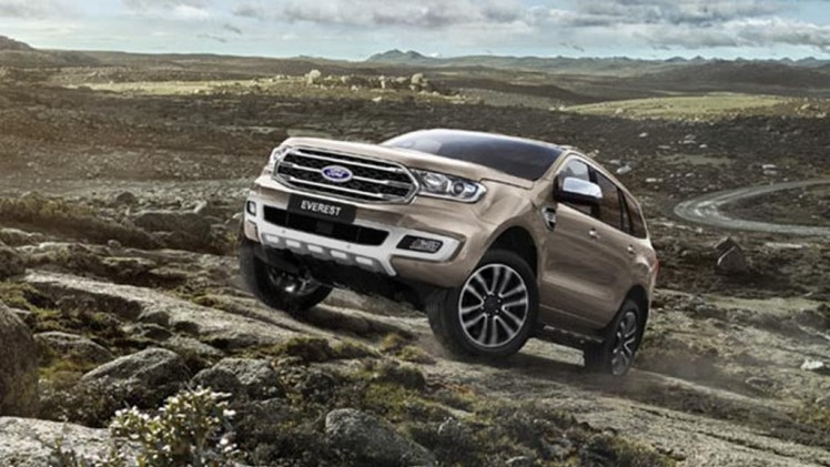 Ford Endeavour Facelift