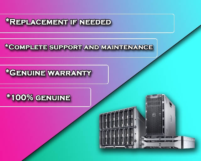 genuinely branded refurbished server